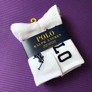 Polo Ralph Lauren 6 Pairs Men's Cushion Crew Sock